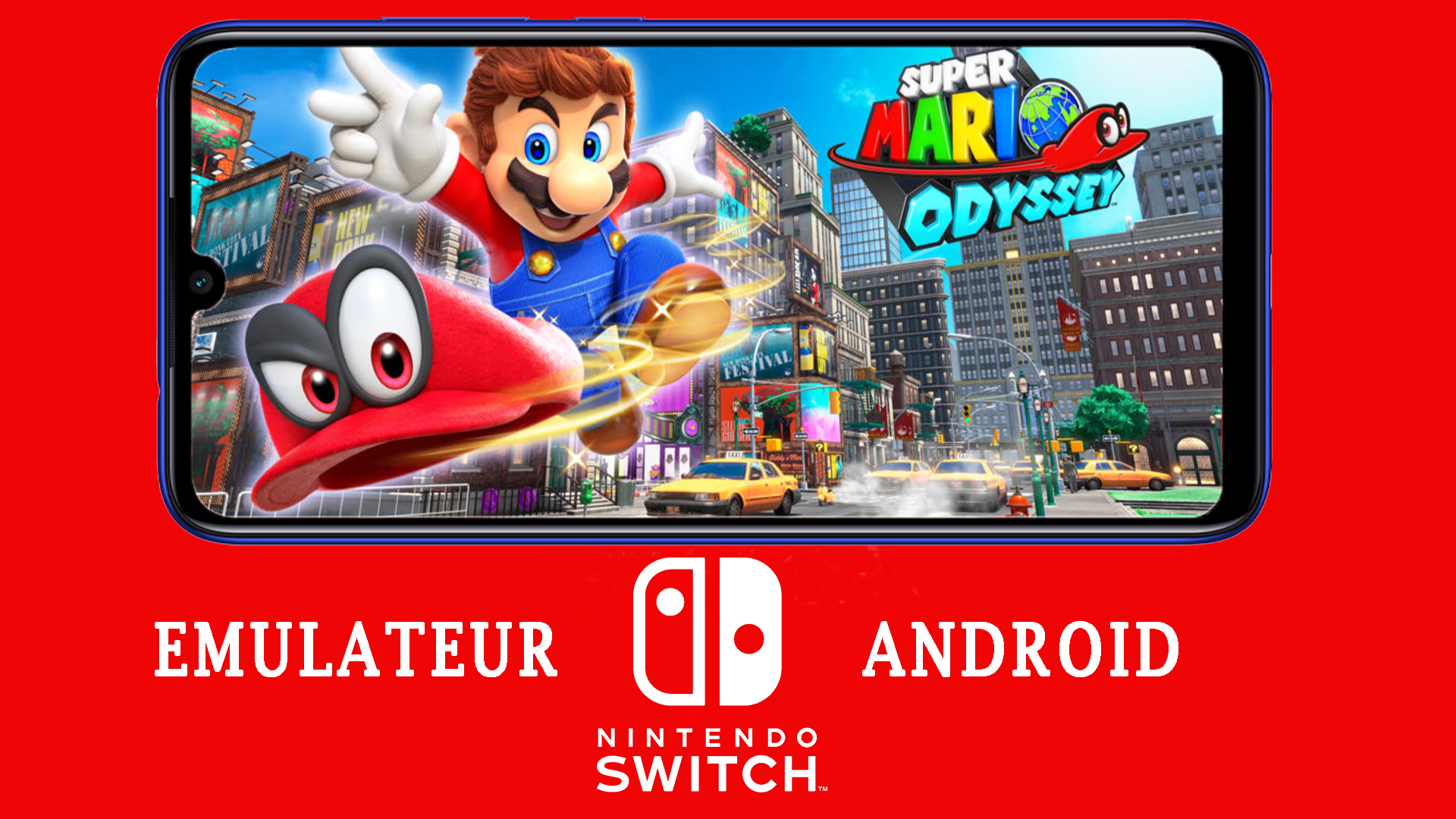 Telecharger emulateur nintendo switch pour android