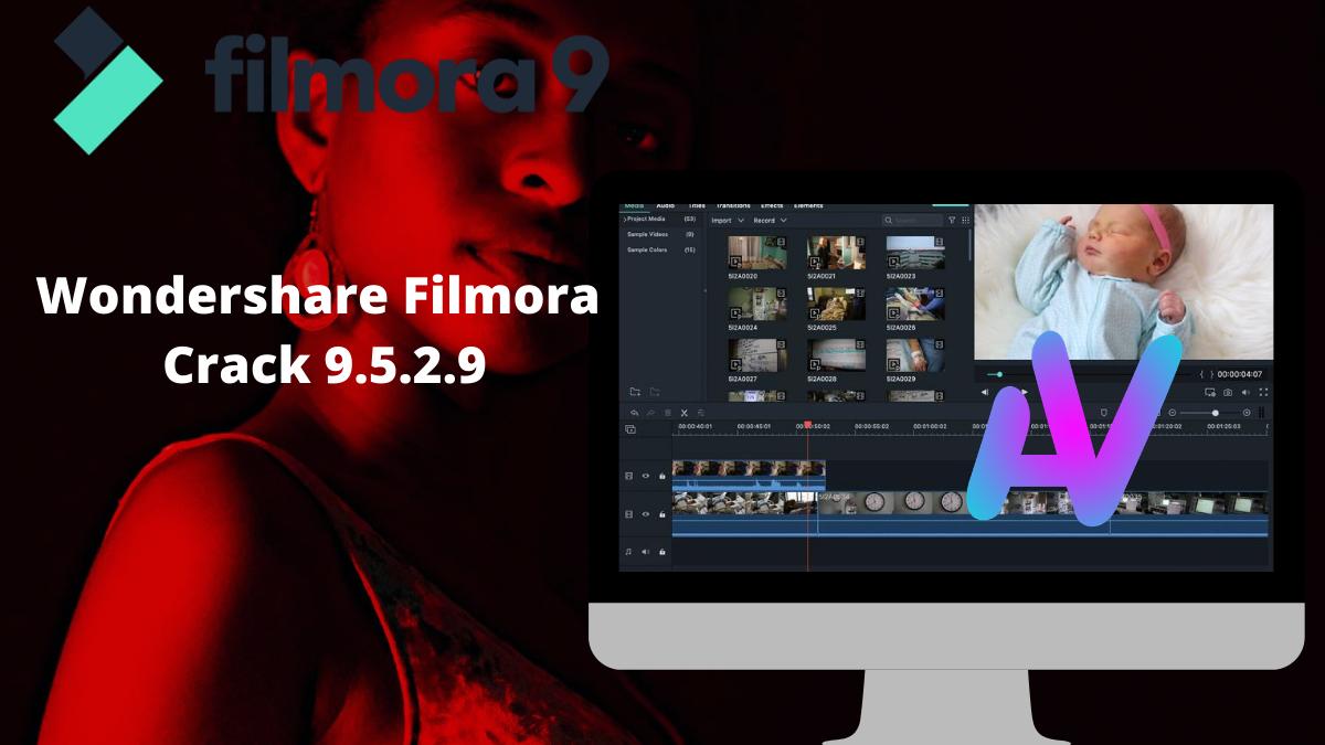 Télécharger Wondershare Filmora Crack 9.5.2.9