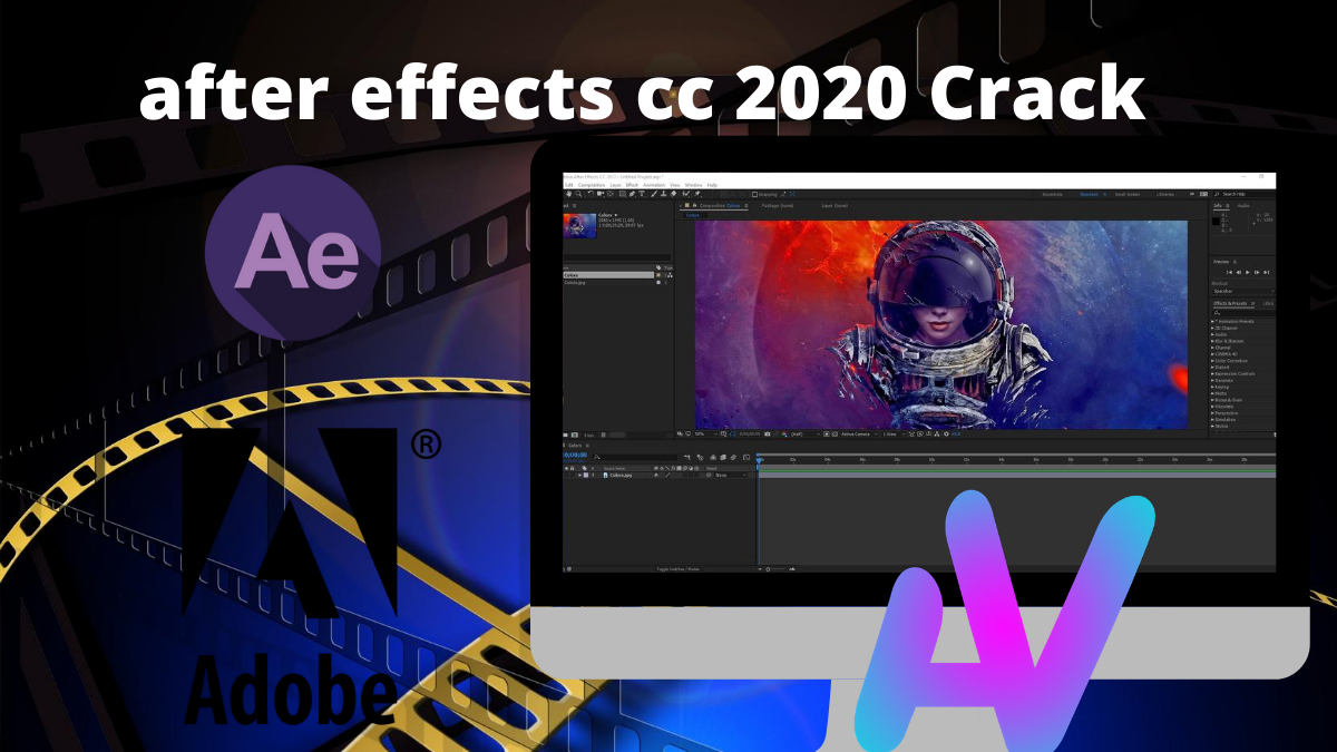 Telecharger after effects 2020 Crack