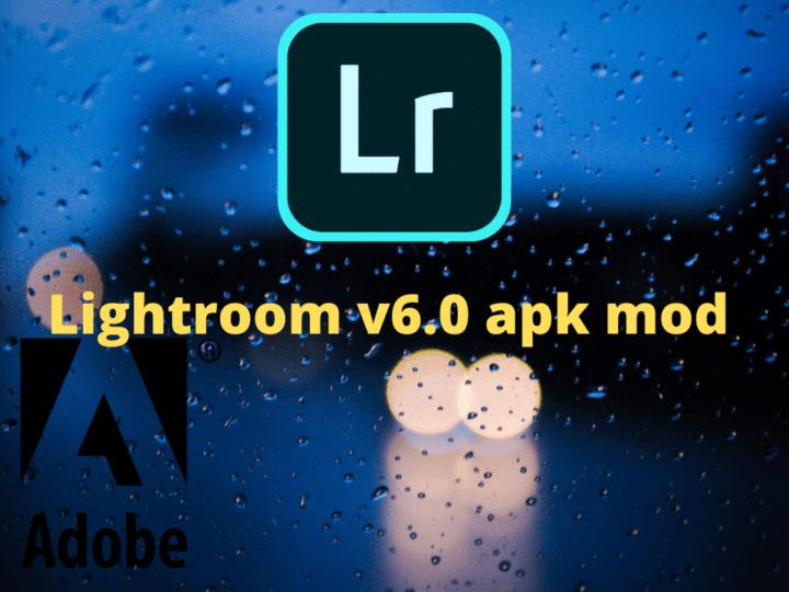 Telecharger adobe lightroom v6.0 apk mod