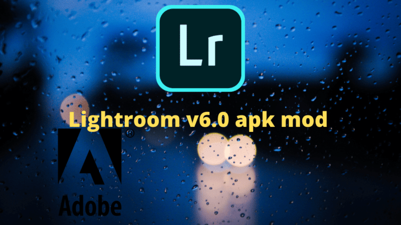 Telecharger adobe lightroom v6.0 apk mod