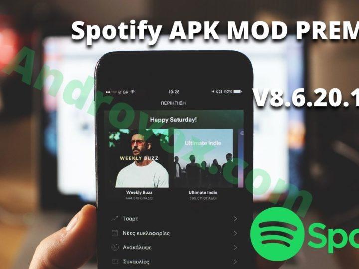 Télécharger spotify premium APK MOD V8.6.20.1063 Premium unlocked