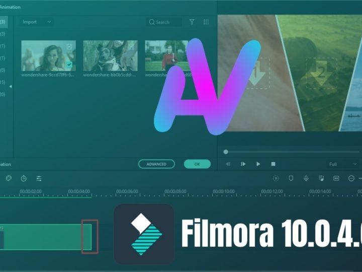 Télécharger Wondershare Filmora 10.0.4.6 crack